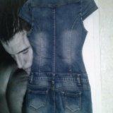 Платье джинсовое. Фото 2.