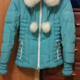 Продам теплую зимнюю куртку. Фото 1.