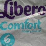 Подгузники libero comfort 6. Фото 1.