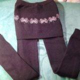 Комплект:юбка с лосинами новые,на р.140-146. Фото 2. Ростов-на-Дону.