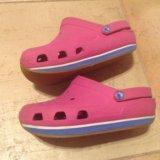 Розовые crocs, 20,5 см. Фото 1.