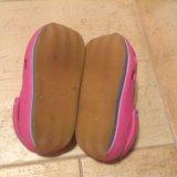 Розовые crocs, 20,5 см. Фото 2.