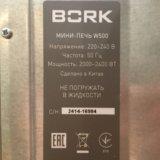 Bork w500 печь. Фото 3.
