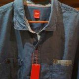Рубашка джинсовая st''oliver 5xl. Фото 1. Санкт-Петербург.