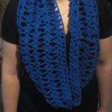 Новый вязаный шарф снуд. Фото 1. Воскресенск.