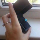 Кольцо с топазом. Фото 2.