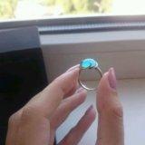 Кольцо с топазом. Фото 3.