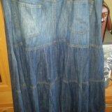 Джинсовая юбка. Фото 2.