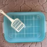 Лоток, миска, совок для кошек. Фото 1.