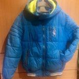 Куртка на рост 140см зима. Фото 1.