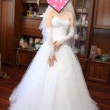 Свадебное платье + подарки. Фото 1.