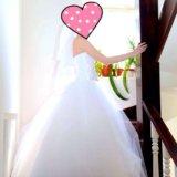 Свадебное платье + подарки. Фото 2.
