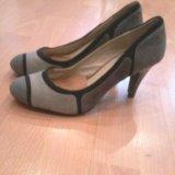 Туфли нубук, замша. Фото 2.