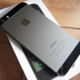 Iphone 5s space gray 16gb. Фото 1.