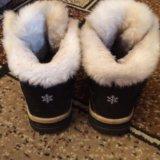 Женские зимние ботинки. Фото 3.