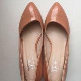 Туфли кожа-лак 39 размер. Фото 2.