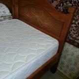 Кровать с матрасом. Фото 4.