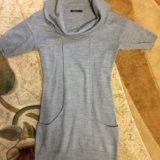 Тёплое платье туника. Фото 1.