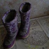 Зимние сапоги. Фото 1.