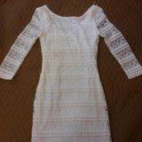 Белое платье. Фото 1.