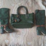 Срочно!!!! сапоги и сумка:))))). Фото 1. Зеленоград.
