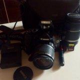 Зеркальный фотоаппарат canon d 550. Фото 1.