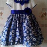 Праздничное детское платье 98 р. Фото 1.
