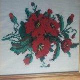 Картина, ручной вышивки. Фото 3.
