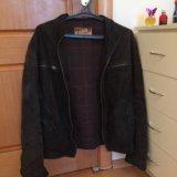 Куртка замшевая мужская. Фото 1.