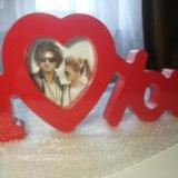 """Рамка для фото """"я тебя люблю"""". Фото 1. Красногорск."""