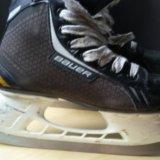 """Коньки хоккейные """"bauer supreme pro"""" 36p. (3r). Фото 1."""