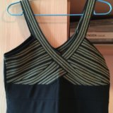 Платье новое, плотный стретч,  бретельки супер р-м. Фото 1.
