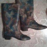 Обувь сапоги резиновые. Фото 1. Уфа.