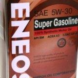 Eneos super gasoline synthetic sae 5w30 sm. Фото 1. Красноярск.