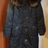 Зимнее пальто пуховик. Фото 3.