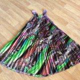 Платье солнце-клёш на поясе. Фото 1. Краснодар.