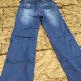 Широкие джинсовые штаны. Фото 1. Казань.