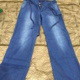 Широкие джинсовые штаны. Фото 2. Казань.