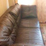 Кожанный диван. Фото 4.