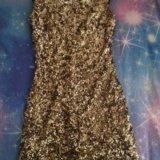 Платье с вырезом на спине. Фото 1.