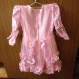 Детское нарядное платье. Фото 1.