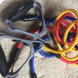 Набор эспандеров для фитнеса. Фото 1.