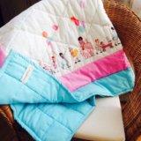 Детское одеяло ручной работы. Фото 2.
