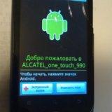 Alcatel  продаю б/у рабочий телефон на запчасти. Фото 2. Железнодорожный.