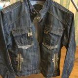 Куртка джинсовая. Фото 1. Щёлково.