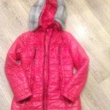 Куртка зимняя детская 10-12 лет. Фото 1.