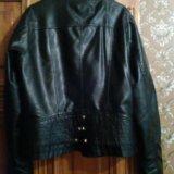 Куртка.кожзам. Фото 1. Смоленск.