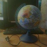 Глобус-лампа. Фото 2.