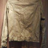 Куртка bomboogie кожаная. Фото 2.