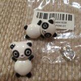 Серьги-панды)+подарок. Фото 4.
